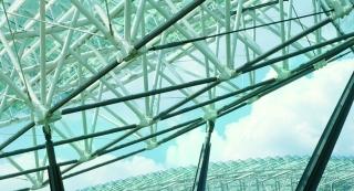 Wartungsfreie Gelenklager in den Dächern moderner Gebäude
