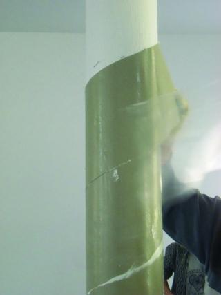 Bandage für F90-Stahlbrandschutz