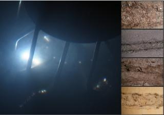 Gesteinszerstörung durch Elektroimpulsverfahren in verschiedenen Gesteinsarten (Granit, Basalt, Kalkstein, Sandstein)