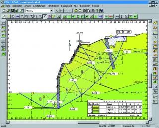 Böschungsberechnungen mit FIDES-GeoStability