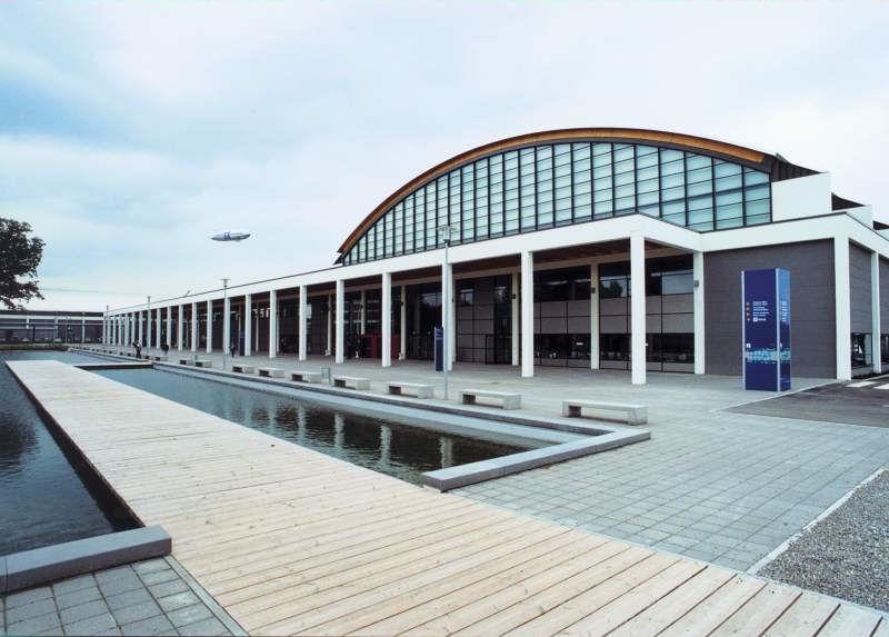 Mehrzweckhalle der Messe Friedrichshafen