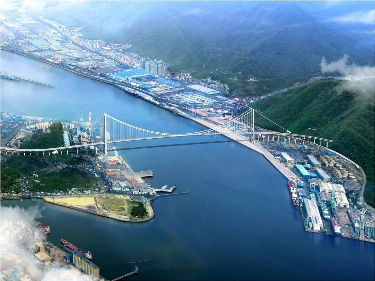 Hafenbrücke Ulsan