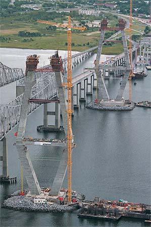 Arthur Ravenel Jr. Bridge Cooper River Bridge - Longest cable stay span in North America