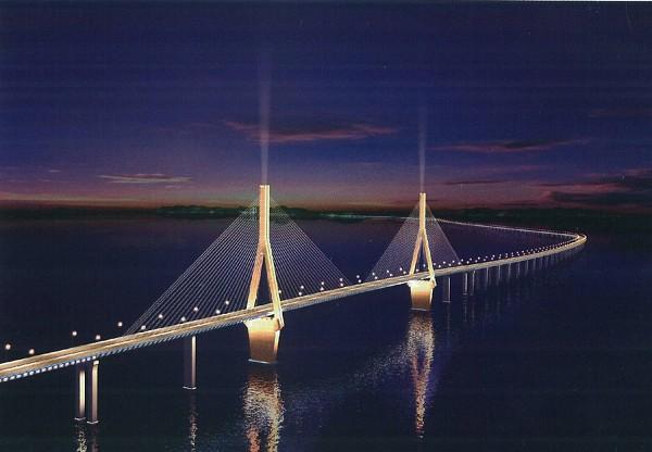 Dong Hai Bridge, Luchaogang