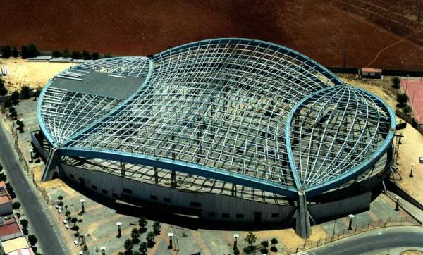 Dos Hermanas Velodrome Roof.