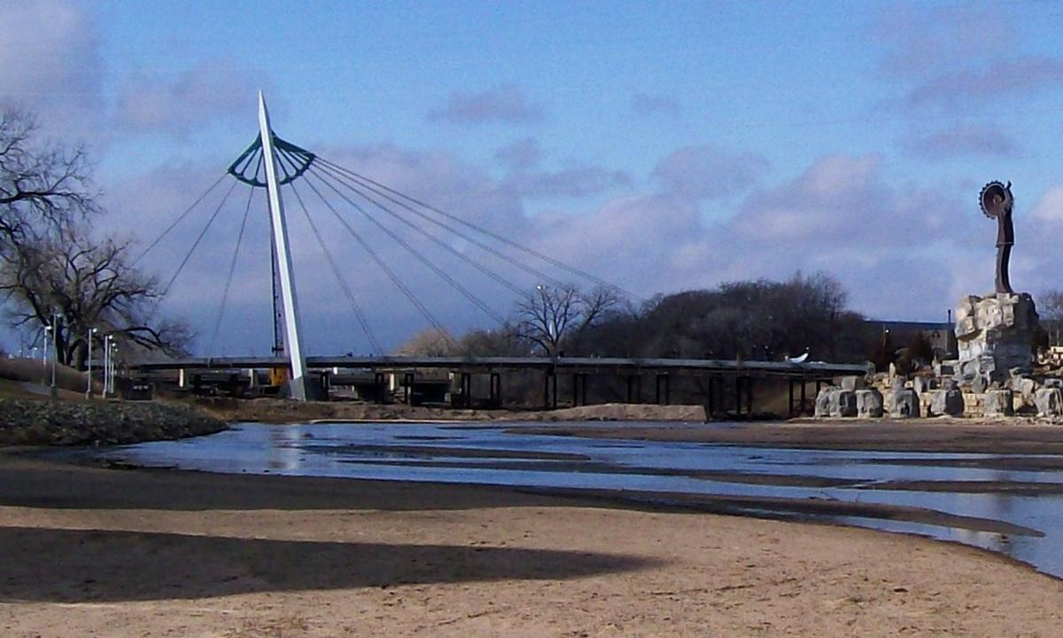 Arkansas River Footbridge