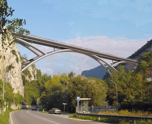 pont en arc sur la valnerina terni 2008 structurae. Black Bedroom Furniture Sets. Home Design Ideas