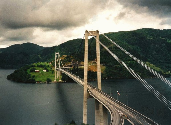 Osterøy-Brücke