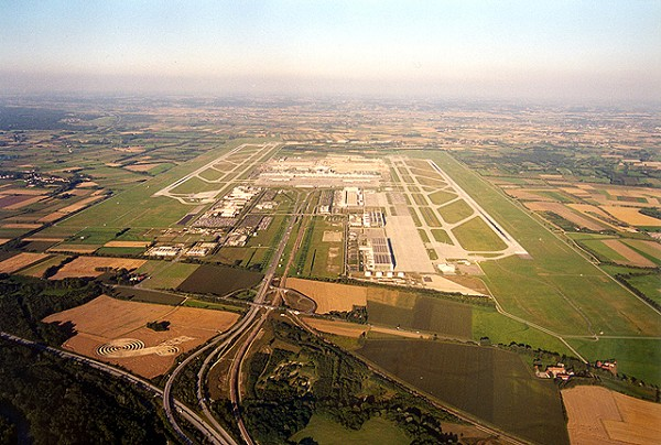 Munich Airport: Overall view