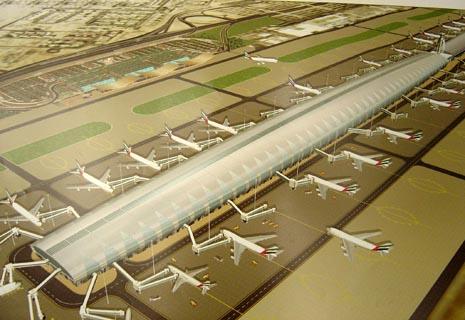Dubai International Airport Terminal