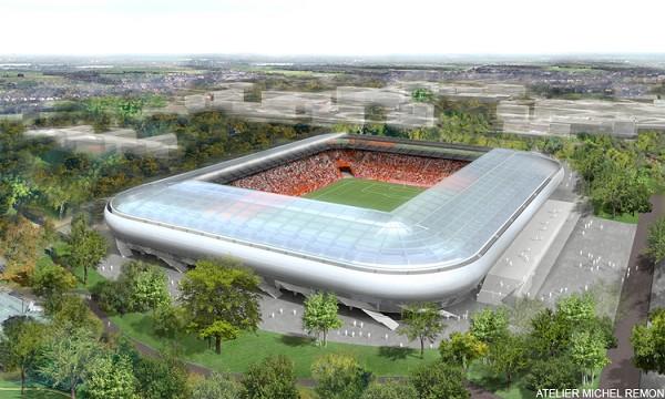 Futur stade de Dijon