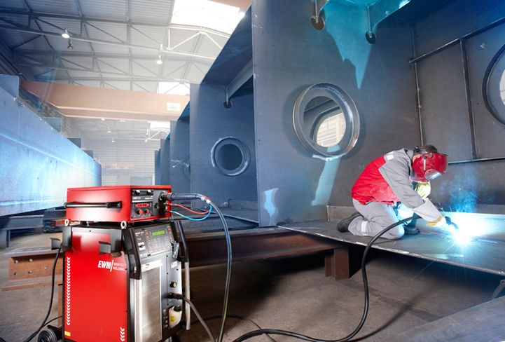 Plauen Stahl now also joins 800 mm long seams with forceArc® – with plates as thick as 80 mm