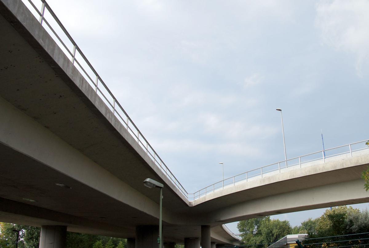 Die Brücke nach der Sanierung