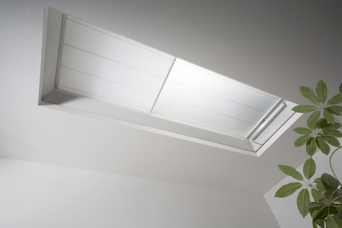 Für individuell regulierbare Lichtverhältnisse – die Faltstore-Verschattung für essertop® 4000