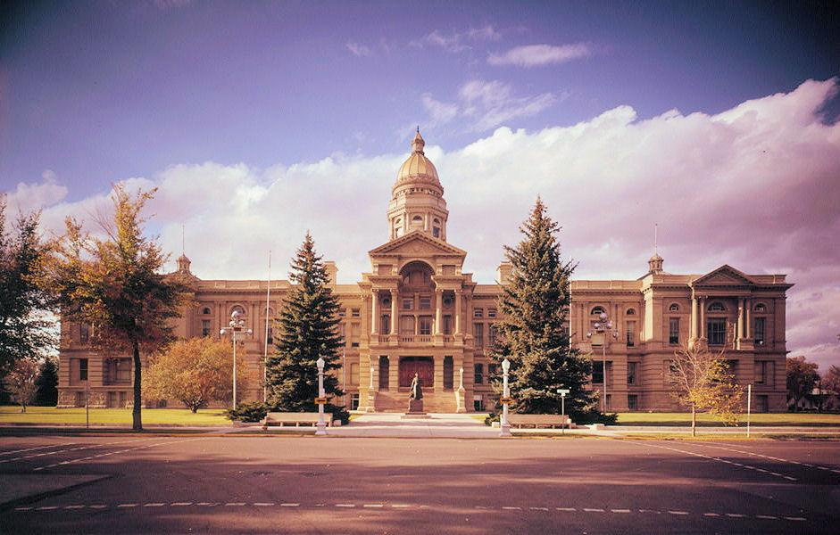 Wyoming State Capitol (Cheyenne, 1890) | Structurae