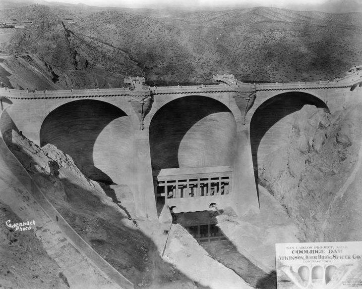 Coolidge Dam  (HAER, ARIZ,11-PERI.V,1-34)