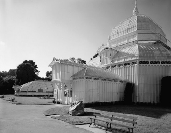 Conservatory of Flowers, Golden Gate Park, Golden Gate (HABS, CAL,38-SANFRA,147-4)