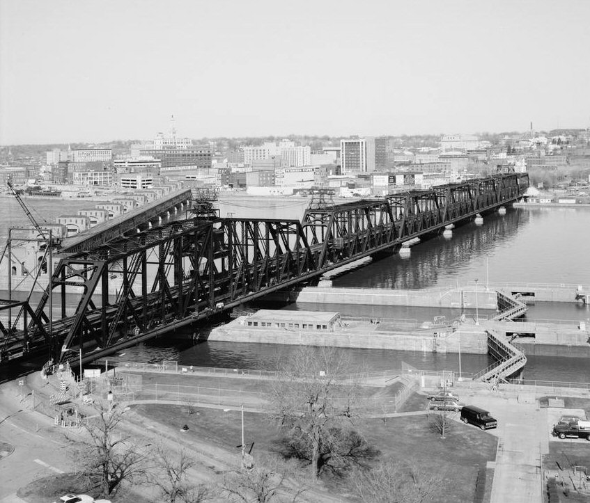 Rock Island Bridge, Rock Island, Illinois(HAER, ILL,81-ROCIL,3A-1)
