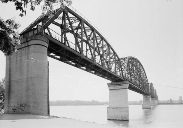 Big Four Bridge, Louisville, Kentucky (HAER, KY,56-LOUVI,71-6)