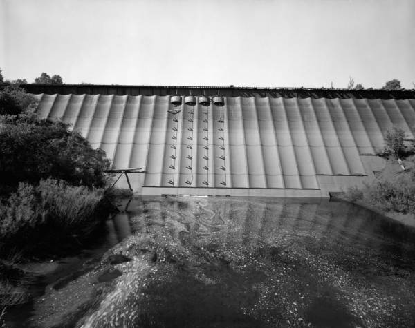 Redrigde Steel Dam. (HAER, MICH,31-BEHIL,1-1)