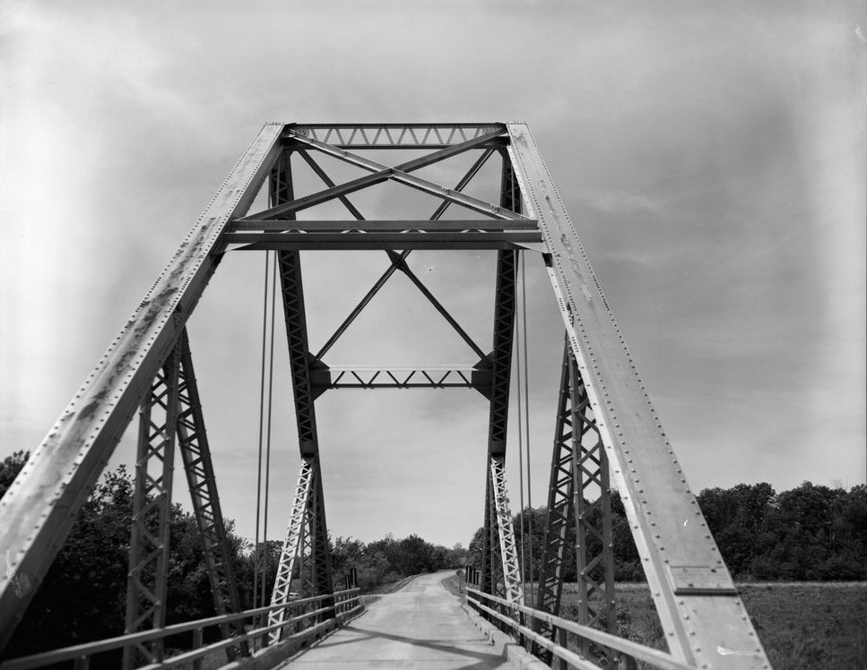 Waddell «A» Truss Bridge, Trimble, Missouri (HAER MO,25-TRIM.V,1-4)