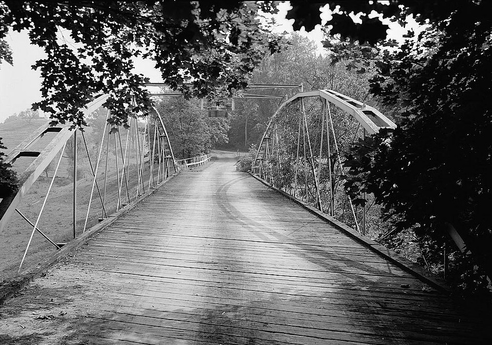 Whipple Cast & Wrought Iron Bowstring Truss Bridge, Normans Kill Vicinity, Albany, Albany County, NY(HAER, NY,1-ALB,19-5)