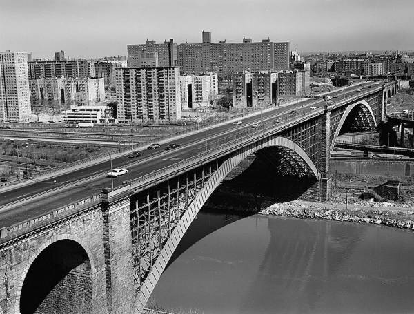 Washington Bridge (181st Street), New York.(HAER, NY,31-NEYO,162-3)