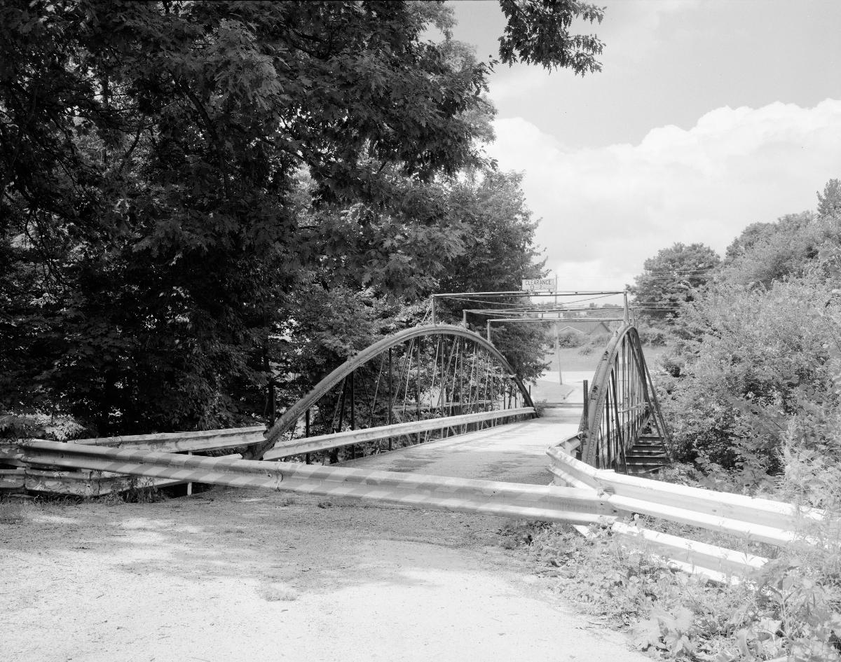 White Bowstring Arch Truss Bridge.(HAER, OHIO,50-POL,2-2)