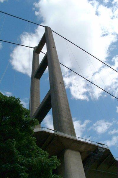 Humber Bridge tower