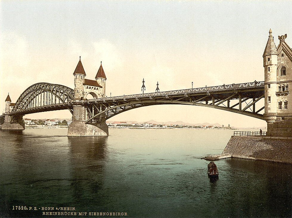 Rhine Bridge, Bonn.