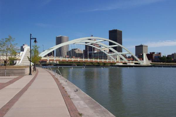 Troup-Howell Bridge (2007), Rochester, New York. Final Color Scheme.Submitted by the New York State Department of Transportation.