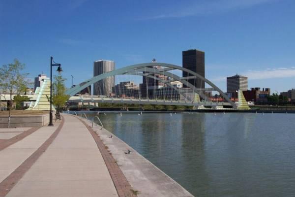 Troup-Howell Bridge (2007), Rochester, New York