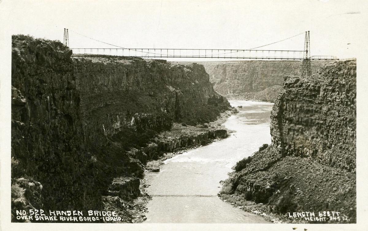 Snake River - Hansen Bridge