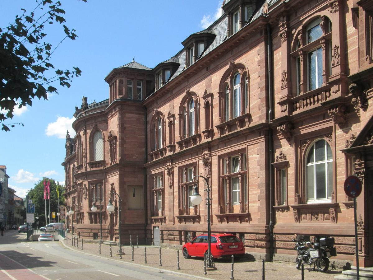 Stadthalle Heidelberg, erbaut 1901-1903 im Neo-Renaisance-Stil