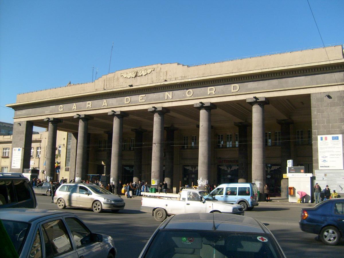 Gare du Nord (Bucarest)<br>(photographe: Razvan Lerescu)