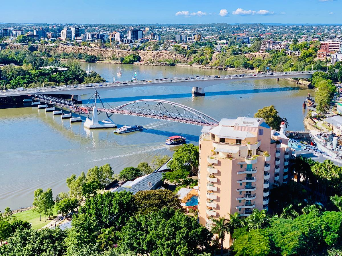 Captain Cook Bridge and Goodwill Bridge
