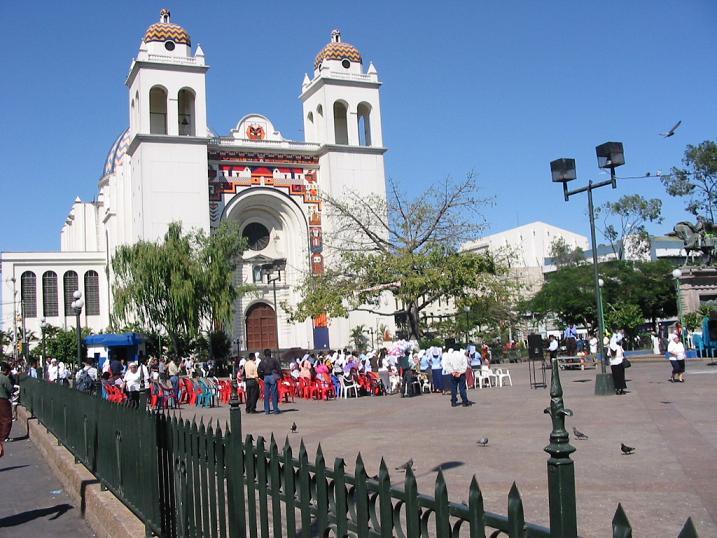 Metropolitan Cathedral of the Holy Savior(photographer: Pedro Nonualco)