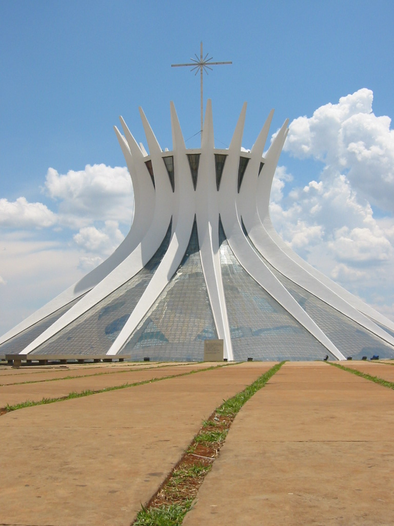 Brasília Cathedral(photographer: Ugkoeln)