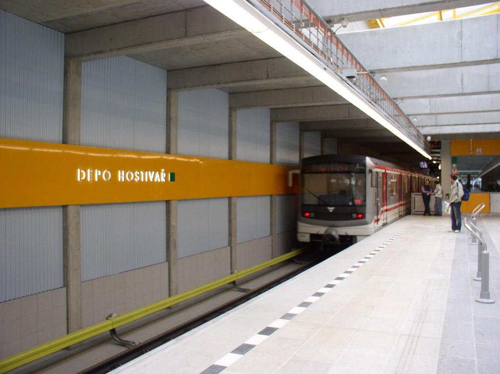 Depo Hostivar Metro Station