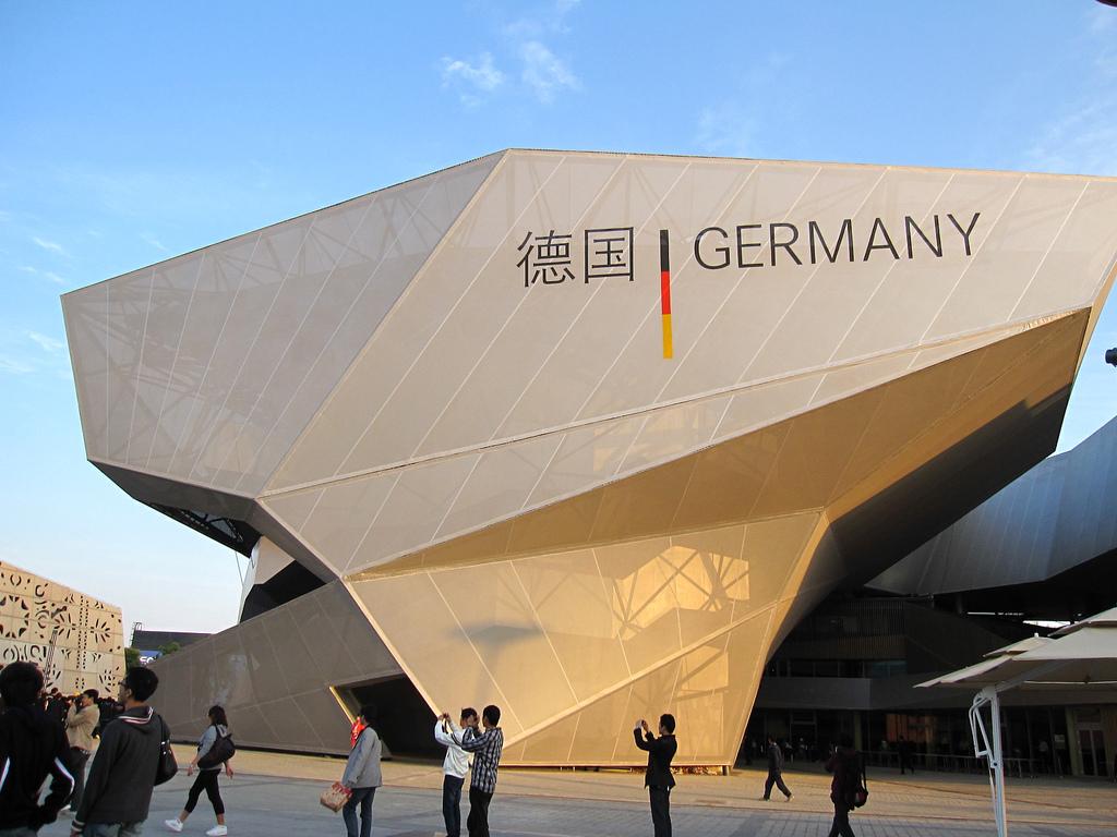 Deutscher Pavillon der Expo 2010