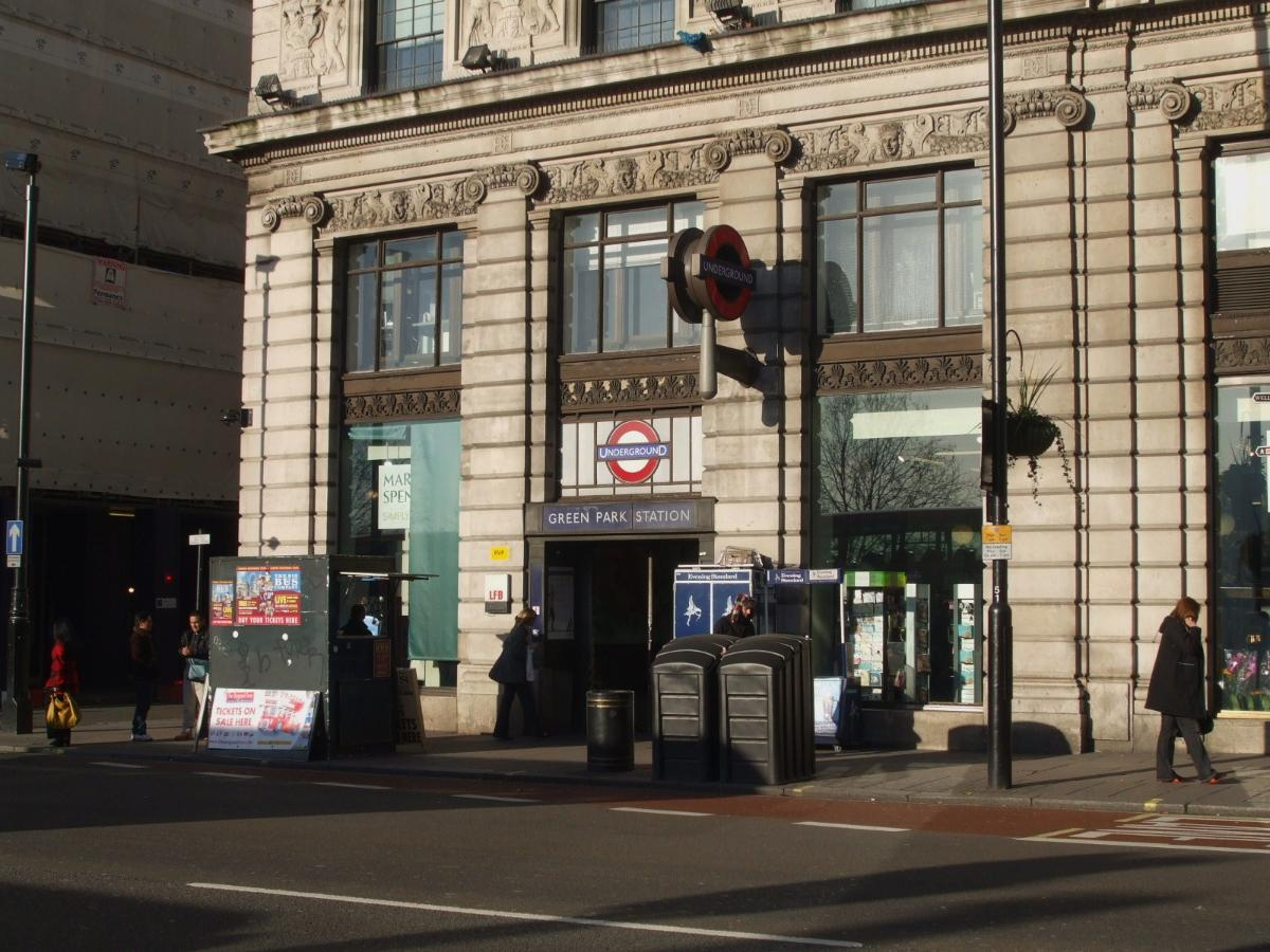 Green Park Underground Station