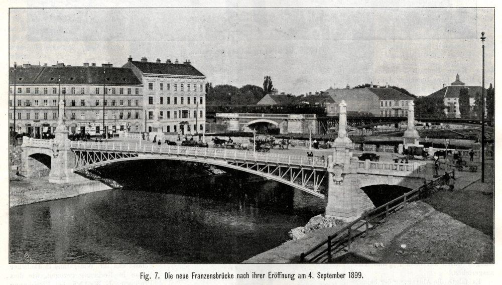 FranzensbrückeSource: Zeitschrift des Österreichischen Ingenieur- und Architekten-Vereins, Wien, 4. Mai 1900