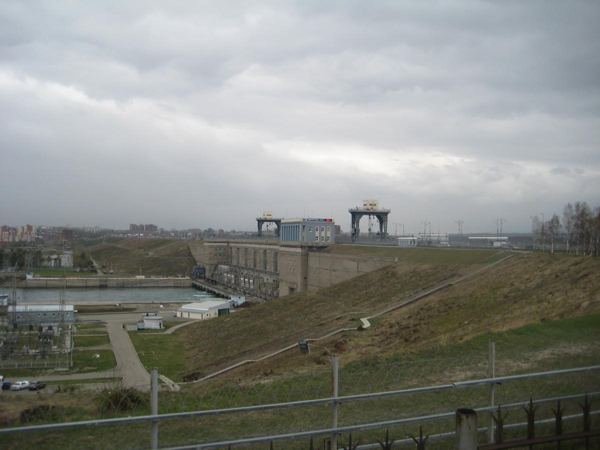 Irkutsk Dam