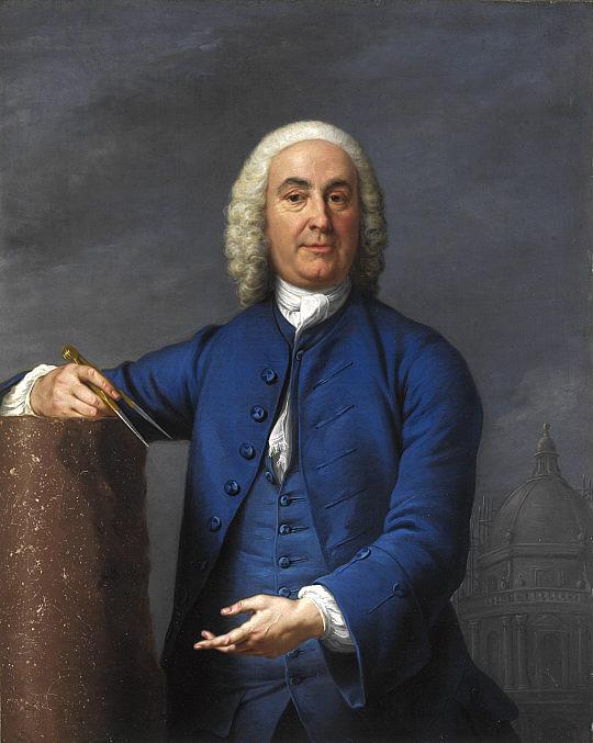 James Gibbs (1682-1754), schottischer Architekt