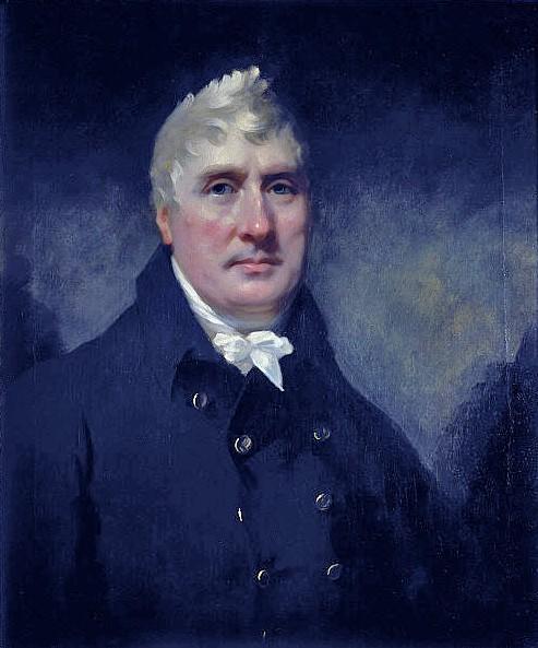 John Rennie (1761 - 1821, Ingenieur), 1810 von Sir Henry Raeburn. Scottish National Portrait Gallery.