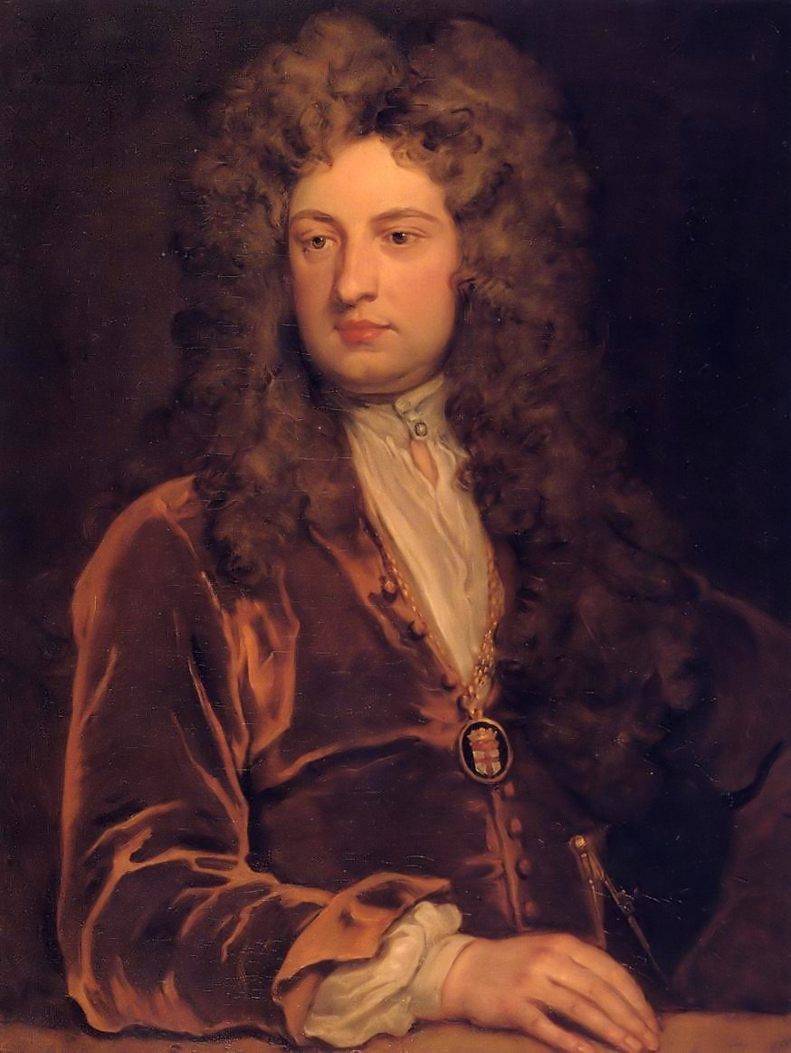 Portrait of John Vanbrugh by: Godfrey Kneller