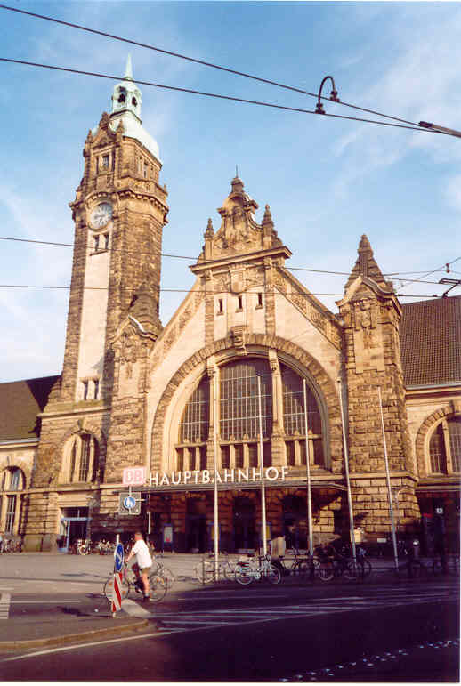 Krefeld Central Station