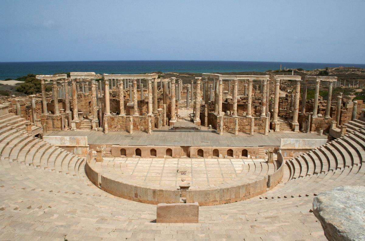 Théâtre Romain - Leptis Magna