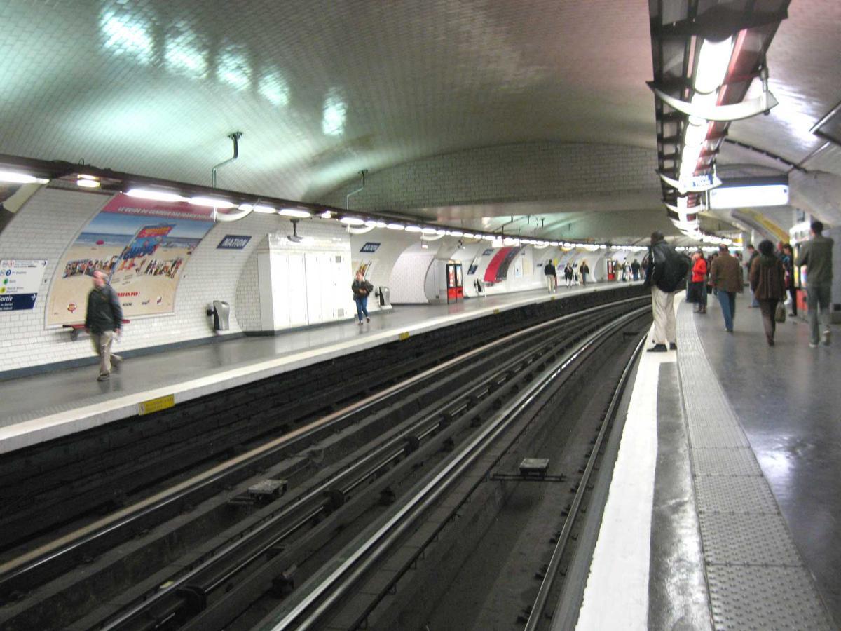 Station de métro Nation - Paris (Ligne 1)