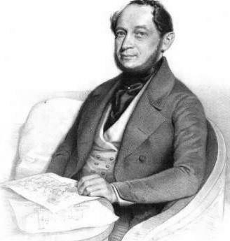 Alois Negrelli von Moldelbe (ca. 1885)